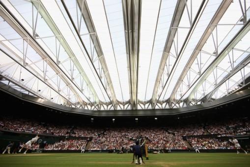 Se estreno el techo de Wimbledon