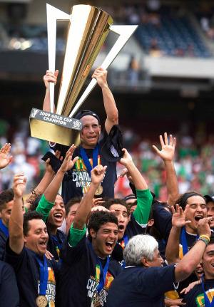 """Campeones de """"Oro"""""""