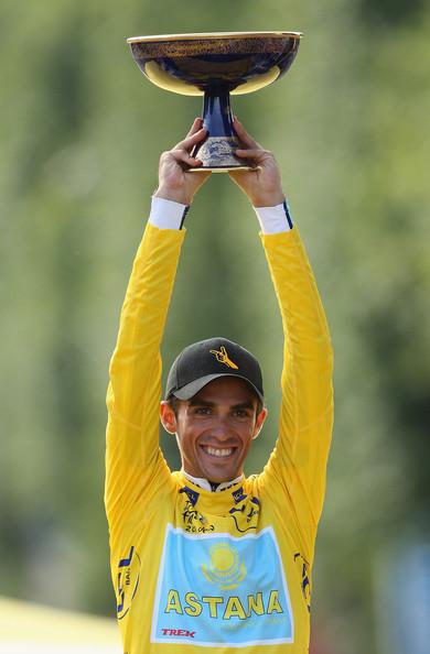 Contador ganador del Tour de France 2009