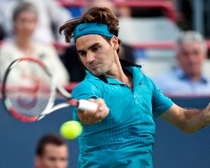 Federer en el Rogers Cup