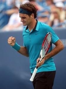 Federer se llevo un susto contra Ferrer