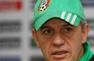 El Vasco en conferencia de prensa