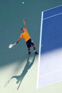 Djokovic y su saque