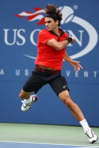 Federer, simplemente impecable