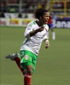 Dos Santos, mostró un gran nivel durante el partido