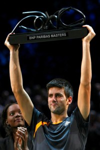 Djokovic campeon del Masters Series de Paris