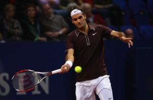 Federer defendiendo su titulo en Basilea
