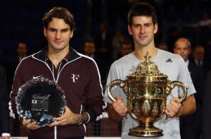 Federer no pudo defender su titulo ante el serbio Djokovic