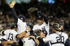 La celebracion de los Yankees